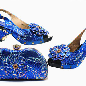 beautiful royalblue Shoe and B