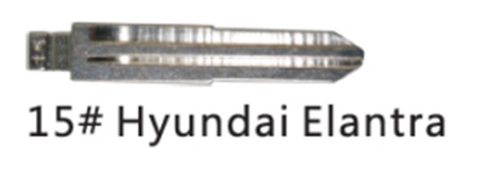 Prix pour 10 pcs/lot KEYDIY Universel Télécommandes Flip Lame Lame 15 #, HYN6 pour Hyundai, pour Kia