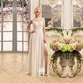 Vestidos Де Novia Sexy Шифон Пляж Свадебное Платье Принцесса-Line Свадебное платье Robe De Mariage Свадебные Платья Casamento плюс размер