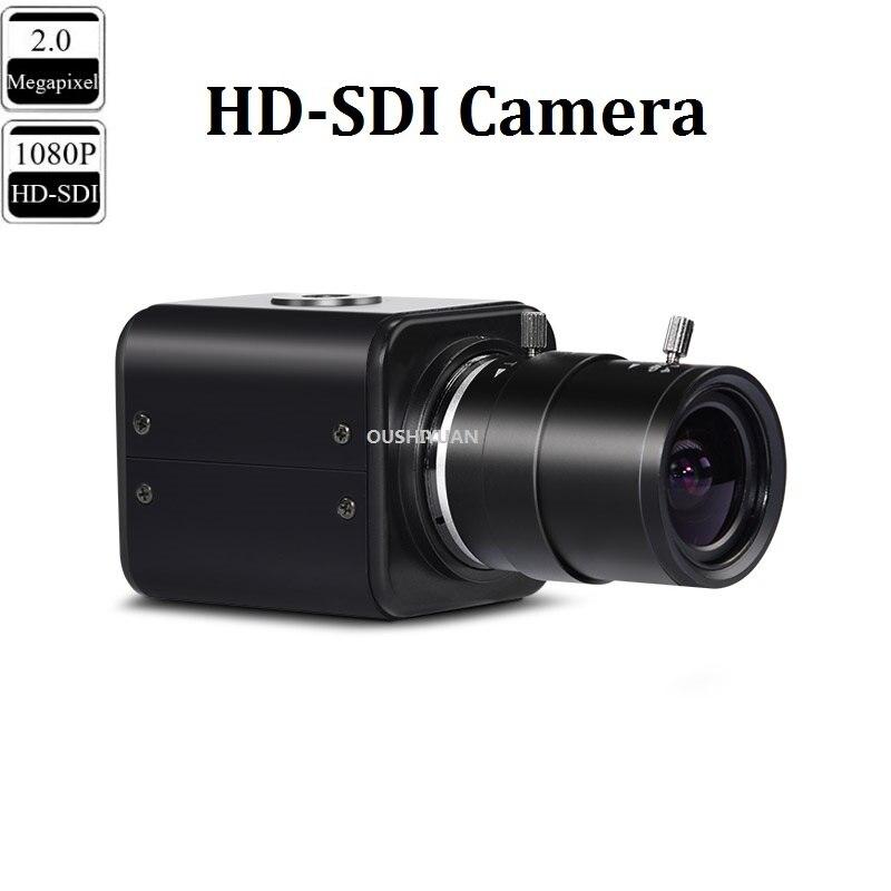 CCTV HD SDI 2 0MP 1080P Zoom Lens 2 8 12mm HD SDI Security Box Mini