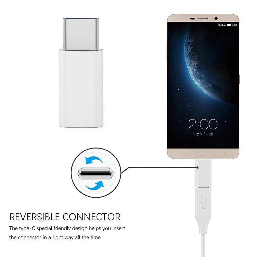 Suntaiho Micro USB to USB 3.1 Type-C Adapter for Xiaomi Lg G5 Nexus 5x 6p Oneplus 2 Macbook Type C Adapter Mobile Phones Adapter