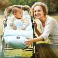 Carro de bebé accesorio anti kick edredón niños espesada algodón al aire libre saco de dormir de invierno custodia caliente trolley cubierta del pie
