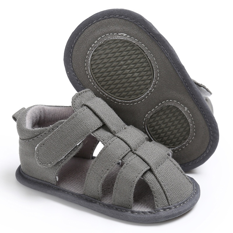 Summer Newborn Baby Sandals Hollow Boy Shoes Boys Casual Breathable Sandals Baby Slippers Prewalker Sandal 0-18M
