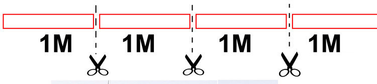 how to cut strip light