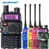 Baofeng UV 5R Walkie Talkie Dual Band UHF VHF UV5R CB Radio FM 128CH VOX Ham