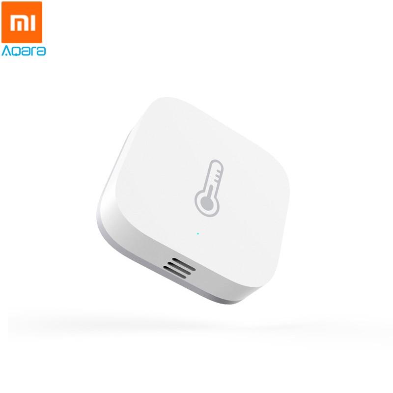 Xiaomi aqara smart home temperature humidity sensor detect atmospheric pressure zigbee wireless - Thermometre connecte wifi ...