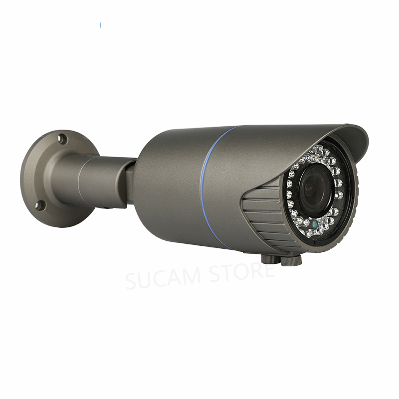 5MP Outdoor AHD CCTV Camera 2.8-12mm Manual Zoom Lens Waterproof BNC Connector SONY326 Sensor Surveillance Bullet Camera5MP Outdoor AHD CCTV Camera 2.8-12mm Manual Zoom Lens Waterproof BNC Connector SONY326 Sensor Surveillance Bullet Camera