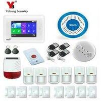 Wireless Home 3g GSM WiFi Alarmsysteem DIY Kit APP Controle Met Auto Dial Bewegingsmelder Inbreker alarm