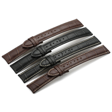 Genuine Leather Watchband Watch Band Strap 12 13 14 16 18 19 20 21 22 24mm For Omega Victorinox Certina Blancpain Iwc Longines цена в Москве и Питере