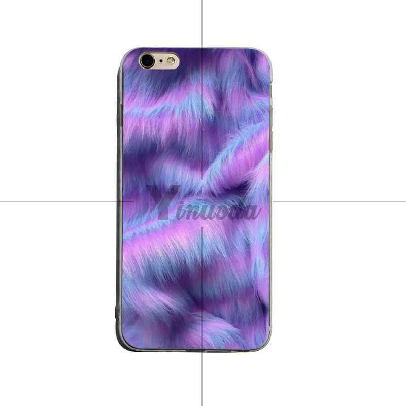 Yinuoda меховая текстура новейший супер милый чехол для телефона iPhone 6 plus 6s 7 plus 8 plus X XS XR Coque Shell