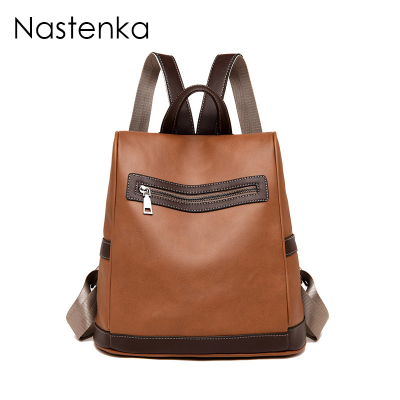 Nastenka Women Anti-theft Backpack Women School Backpack For Teenage Girl School Bag For Teenager Girl Travel Backpacks Mochila