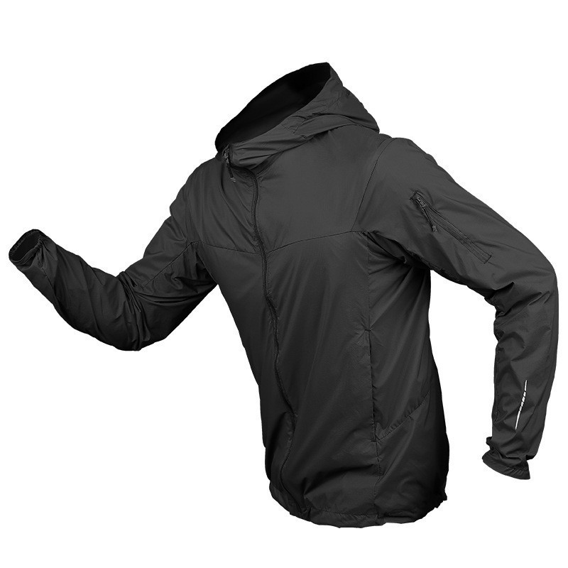 Summer Outdoor Sun Protection Ultra-thin Breathable Quick Dry Skin Clothes Men Sports Hiking Climbing Cycling Tactical Jacket