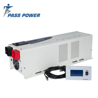 Well impact resistance and stability 24v 48v DC 6000w low frequency inverter with inbuilt charger and UPS