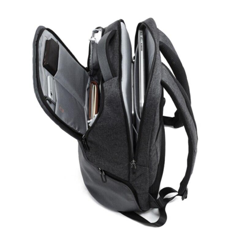 Neue M187 Leinwand Wasserdicht Trendy Fotografie Tasche Im Freien Tragen beständig Große Rucksack Männer für Nikon/Canon/Sony /Fujifilm - 4