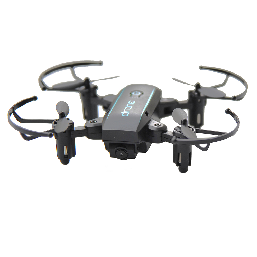 New Arrival IN1601 2.4G 720P 0.3MP Wifi FPV Foldable Mini Drone With Camera Altitude Hold RC Drone Quadcopter Selfie Drone Gifts (4)