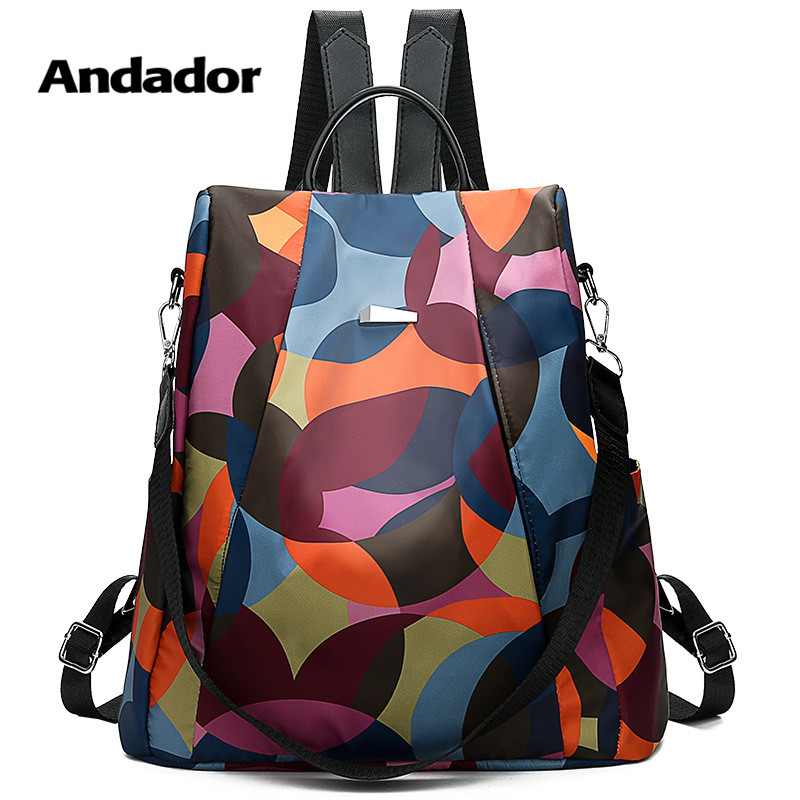 Anti-Theft-Backpack Travel-Shoulder-Bag Larger-Capacity Female Casual Women New-Fashion