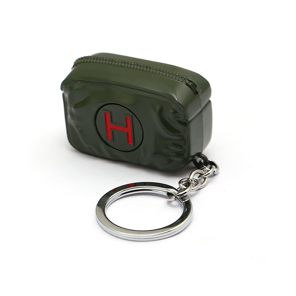 Accessory Game Keychain Bag Pendants First Aid Kit Treatment Box Keyring Battleground Jedi Survival Small Size