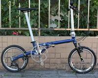Fnhon CR MO Steel Folding Bike 16 Minivelo Mini velo 9 Speed Bike Bicycle overall bike V Brake
