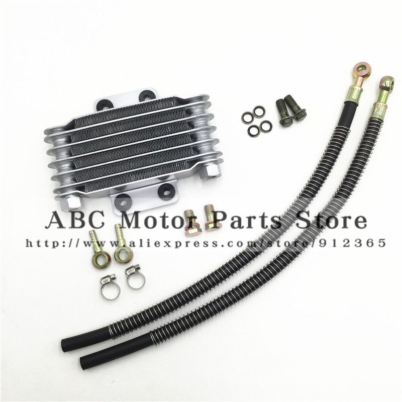 Oil Cooler radiator Dirt Pit Bike Monkey Racing Motorcyle