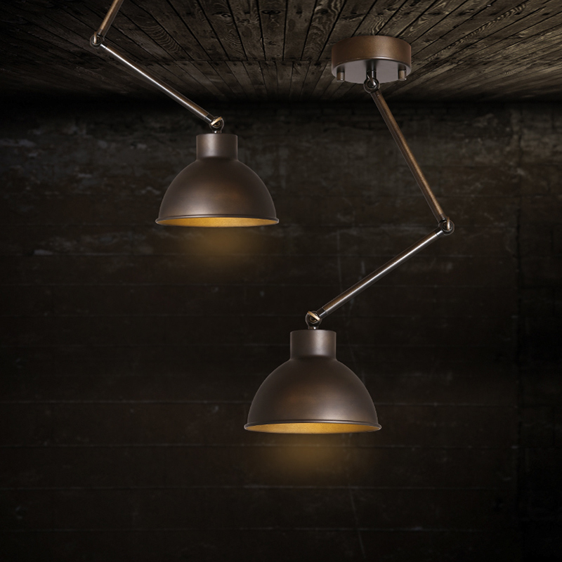 American Loft Style Retro Wrought Iron Strecth Ceiling Lights Aisle Lamp Foyer Restaurant Decoration Vintage Lamp Free Shipping japanese style tatami floor lamp aisle lights entrance corridor lights wood ceiling fixtures tatami wood ceiling aisle promotion