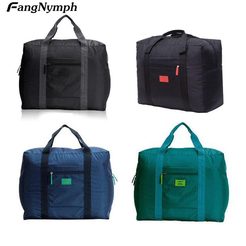 2019 New Portable Unisex Nylon Storage Buggy Bag Purse Pouch Case Handbag Travel Business Luggage Trunk Suitcase