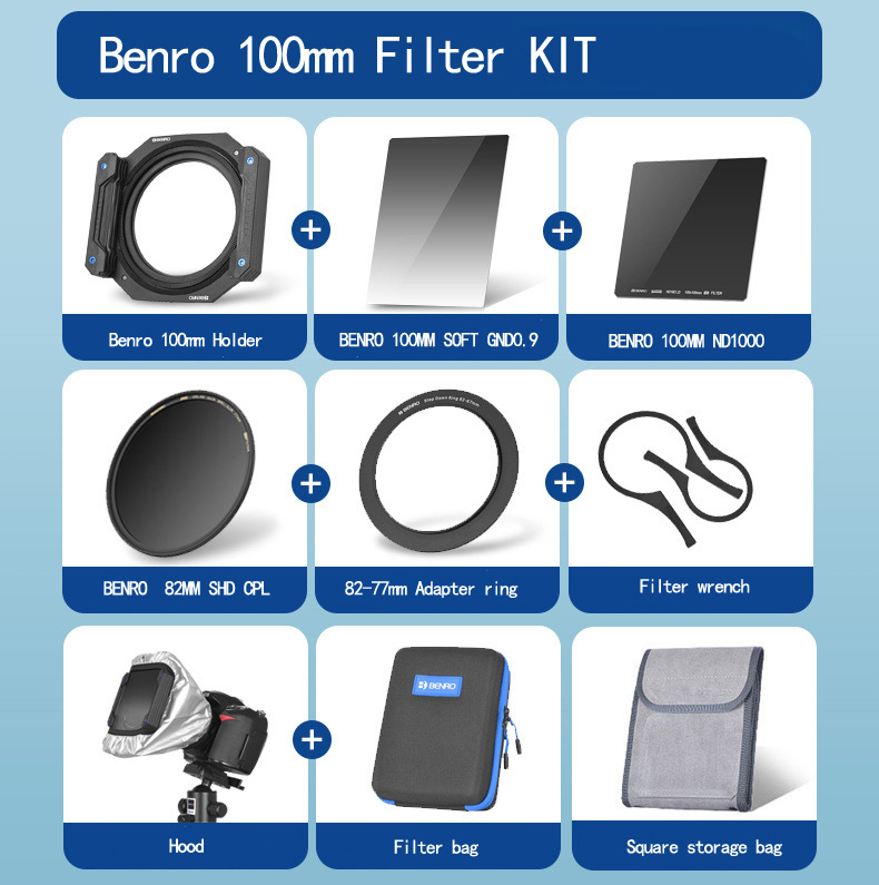 BENRO 100mm×150mm Master GND 0.9 Soft GND Filter For 100mm system Filter Holder