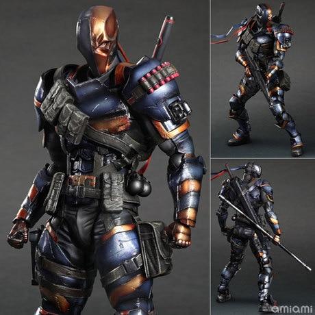 Batman Arkham Origins DC Deathstroke Action Figures PA Doll Toys 25cm
