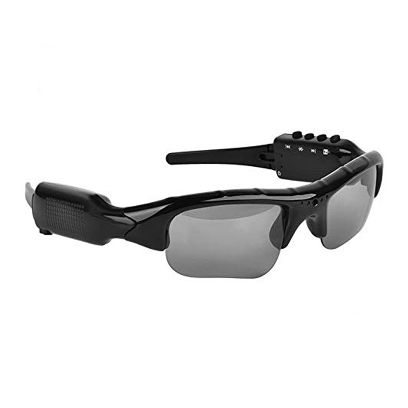 TOP!-Bluetooth Sunglasses Camera, Camera Glasses Full Hd 1080P Wide Angle Mini Drive, Cycling, Fishing, Motorcycle Outd