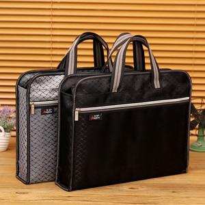 Image 5 - ขนาดใหญ่ความจุซิปกระเป๋า A4 Tote แฟ้มโฟลเดอร์เอกสารการประชุมกระเป๋าสำหรับนักเรียนข้อมูลแฟ้มกระเป๋าถุงผ้าใบกันน้ำ