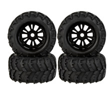 GoolRC 2 Pcs RC 1/8 Monster Auto Velg en Band 810006 voor Traxxas HSP Tamiya HPI Kyosho Afstandsbediening auto(China)