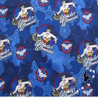 Ширина 140 см Новая ткань чудо-Женщины метр ткань 100% хлопок ткань лоскутное шитье ткань домашний текстиль DIY швейное платье