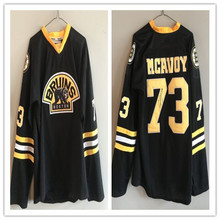 b742be6d5 73 Charlie McAvoy Boston Bruins mens ice Hockey JERSEY Embroidery Stitched  Customize any number and name