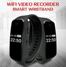 mini wifi 1080P HD sports bracelet camera recording pen smart dv video voice recording mini camerader with Color screen mini cam cheap CMOS 1080P (Full-HD) MicroSD TF TMYIOYC wifi band mini camera
