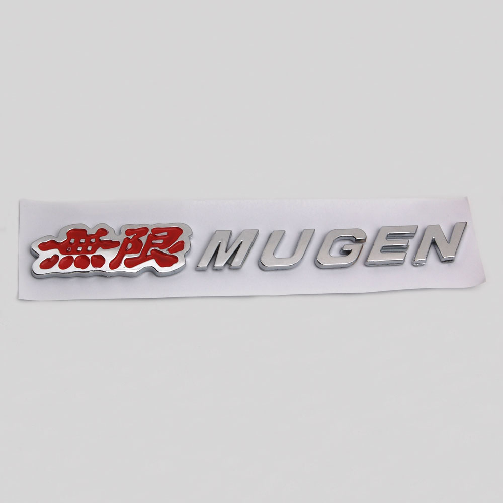 Logo honda rouge - Barbecue Fuka Auto Voiture Abs Rouge Argent Mugen Fit Pour Honda Civic Accord S2000 Cr