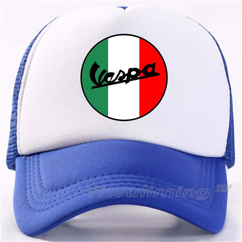 Vespa Moto   Baseball     cap   Men Women Summer Fashion summer Trucker mesh   Cap