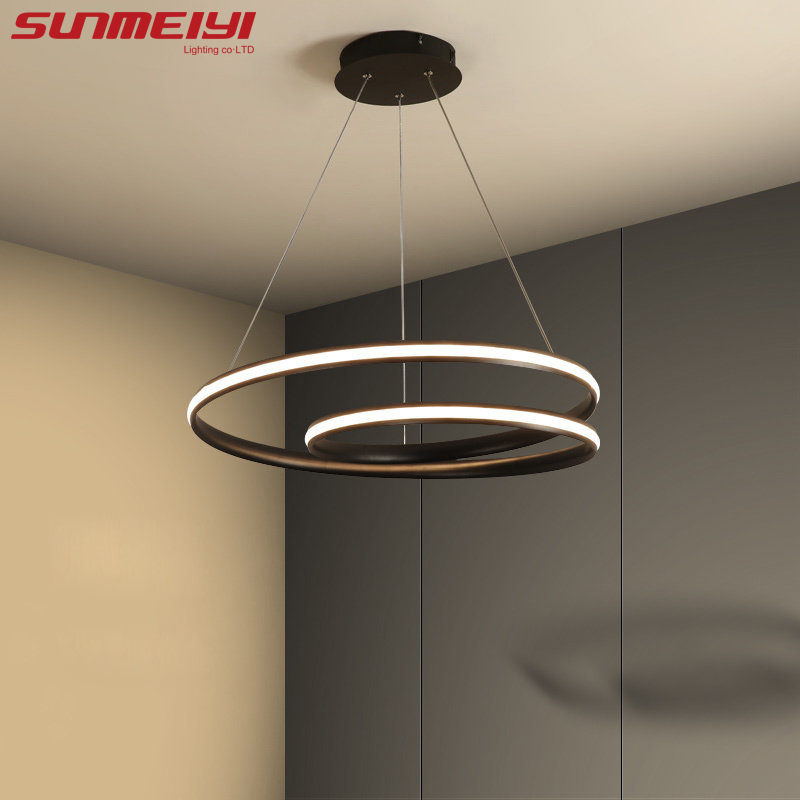Modern LED Pendant Lights luminaire suspendu Light Fixtures For Living room Dining room lampara colgante de techo Hanging LampModern LED Pendant Lights luminaire suspendu Light Fixtures For Living room Dining room lampara colgante de techo Hanging Lamp