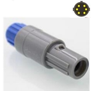 10 шт./лот Push-Pull самоблокирующийся для LEMO 6 PIN круговой пластиковый штекер с двойным слотом разъем/вилка