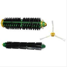 Free Shipping Brush Replacement Mini Kit 3 Armed for iRobot Roomba 500 Series Brand New Vacuum Cleaner Accessories Part
