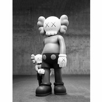 Doll Hug BRIAN Street Art Cartoon Creative Pop Decorative Picture Hang A Picture Figure Collection Model Toy M1290