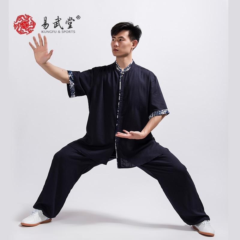 Modern Taiji Unisex Linen Uniform 1