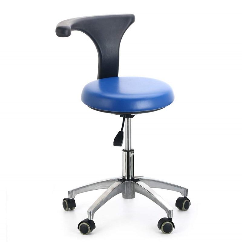 code promo a565b 49060 € 142.44 |Chaise roulante pivotante ergonomique de dentiste de tabouret de  docteur médical avec le pivot arrière Massage réglable de station thermale  ...