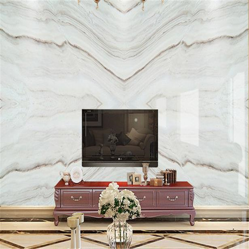 Custom Photo Wallpapers 3D Modern Luxury Marble Chinese Wall Murals for Walls 3D Wall Papers Home Decor Bedroom Living Room TV sea world 3d wallpaper murals for living room bedroom photo print wallpapers 3 d wall paper papier modern wall coverings