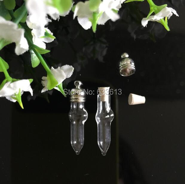 Free Shipping 50pcss/lot Cross Clear Glass Vial Pendant, Glass Pendant, Glass Bottle, Perfume Oil Wish Glass Globles, Pendant