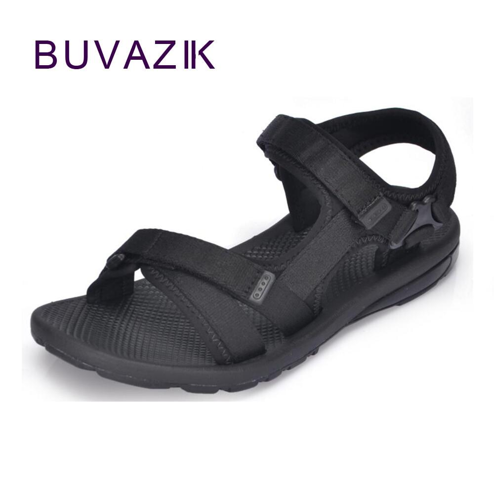 2018 summer gladiator mens beach sandals outdoor shoes Roman men casual shoe flip flops  ...