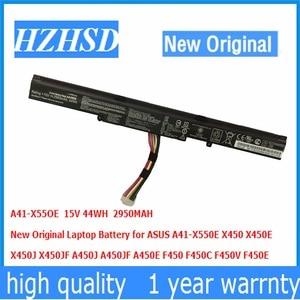 15V 44WH 2950MAH New Original A41-X550E Laptop Battery for ASUS X450 X450E X450J X450JF A450J A450JF A450E F450 F450C F450V(China)