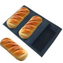 Freies Verschiffen Silikon Brot Formen Quadratische Form Brot Formen Antihaft Backfach Silikon Beschichtete Glasfaser Loaf Knusprigem Brot