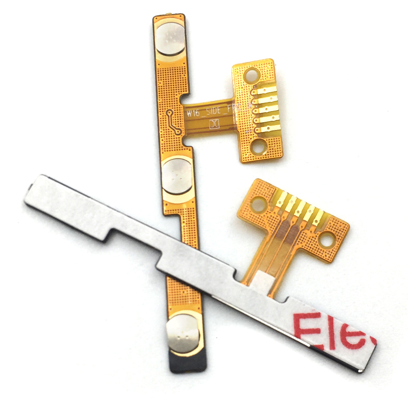 10Pcs/lot, Side Key Button Flex Cable For Zte L5 Blade Power Volume Flex Cable High Quality