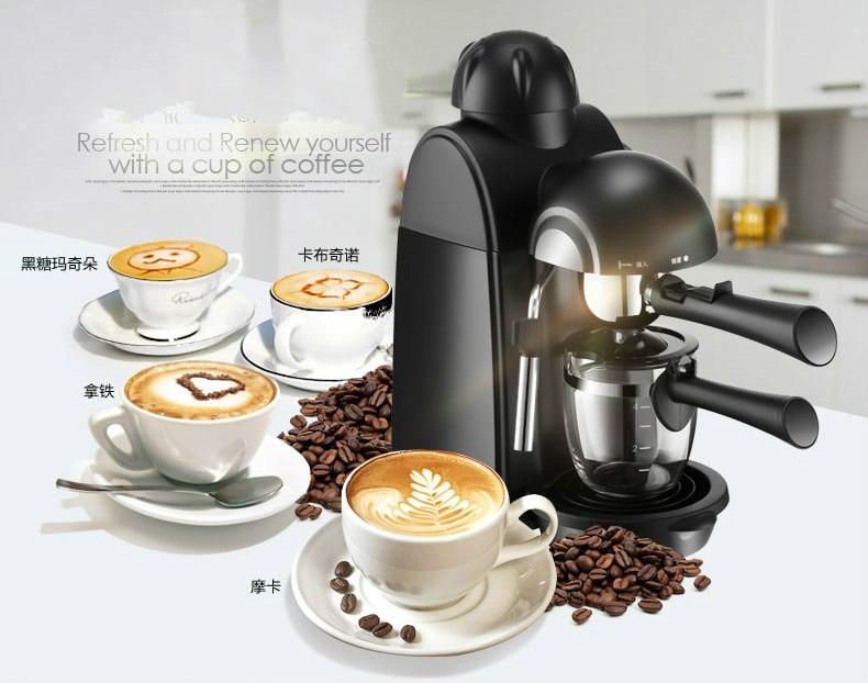 espresso maker USES commercial semi-automatic brewed coffee pot Espresso Coffee Maker italy espresso coffee machine semi automatic maker cup warming plate kitchen