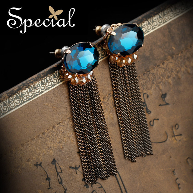 Special New Fashion Long Earrings Vogue Style Vintage Drop Earrings For Girls Women Free shipping ED141125