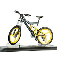 1:10 Scale Willie Simulation Alloy Bicycle Model Highway Bicycle Mountain Bike Toy Model Pendant Collection Adornment